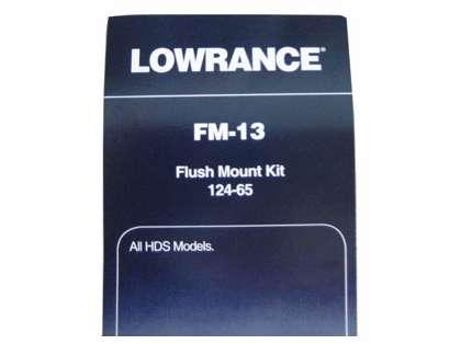 Lowrance FM-13 Flush Mount Kit for Button-Control HDS Series