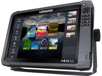 Lowrance HDS-12 Gen3 Fishfinder w/ Insight USA w/83/200 Transducer