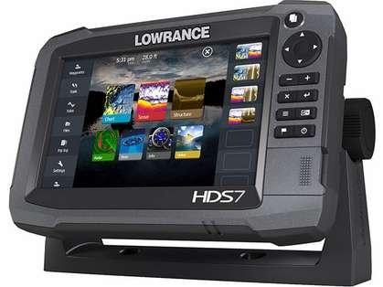 Lowrance HDS-7 Gen3 Fishfinder w/ Insight USA w/50/200 khz Transducer