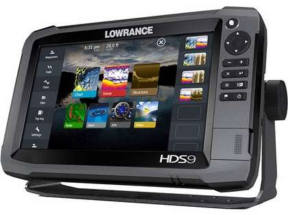 Lowrance HDS-9 Gen3 Fishfinder w/Insight USA/Transducer/StructureScan