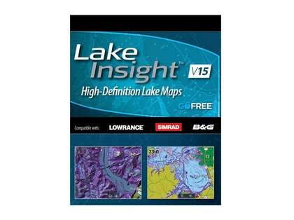 Lowrance Lake Insight High-Definition Lake Maps | TackleDirect