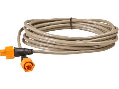 Lowrance 15 ft. Yellow Ethernetwork Cable