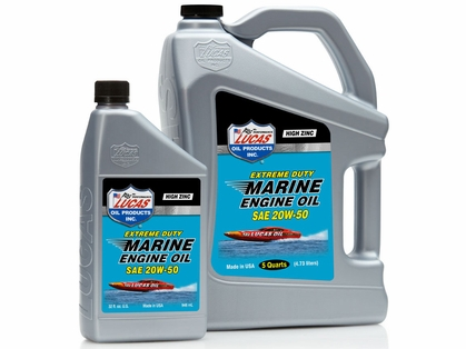 Lucas Oil Extreme Duty Marine Engine Oil SAE 20W50