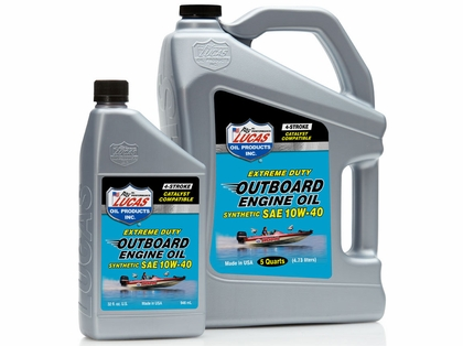 Lucas Oil Outboard Engine Oil Synthetic SAE 10W40