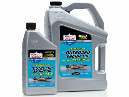 Lucas Oil Outboard Engine Oil Synthetic SAE 10W30