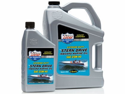 Lucas Oil Stern Drive Inboard Engine Oil SAE 25W40