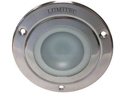 Lumitec 114118 Shadow Down Light - Stainless Bezel - White/Red/Blue