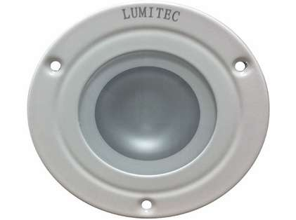 Lumitec 114128 Shadow Down Light - White Bezel - White/Red/Blue