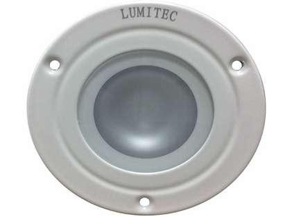 Lumitec 114129 Shadow Down Light - White Bezel - Warm White