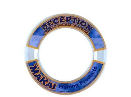 Makai Deception Fluorocarbon Leader 50yds 15lb Test - Clear