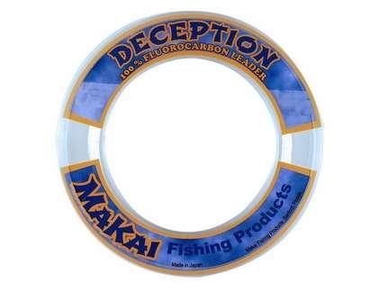 Makai Deception Fluorocarbon Leader 50yds 20lb Test - Clear
