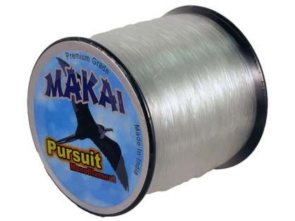 Makai Pursuit Monofilament Line 1lb Spool - Clear 50/0.70mm/960yds