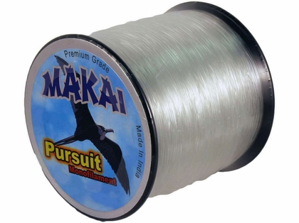 Makai Pursuit Monofilament Line 5lb Spool - Hi-Vis 100/1.00mm/2750yds