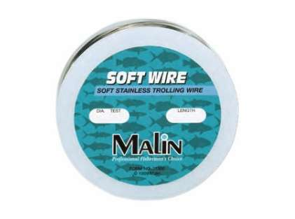 Malin S60-300 Soft Stainless Trolling Wire