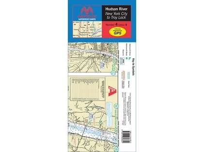 Maptech WPC004 Waterproof Chart - Hudson River
