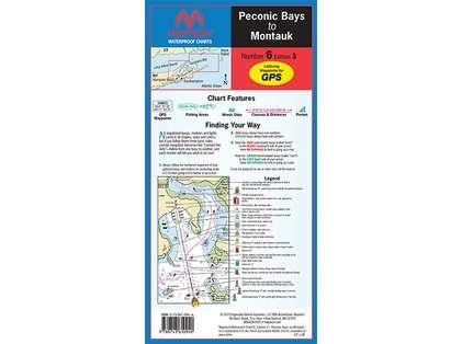 Maptech WPC006 Waterproof Chart - Peconic Bays to Montauk