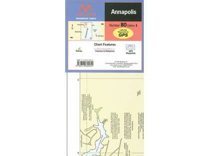 Maptech WPC080 Waterproof Chart - Annapolis