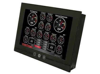 Maretron TSM Vessel Monitoring & Control Touchscreens