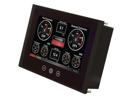 Maretron TSM800 8in Vessel Monitoring/Control Touchscreen