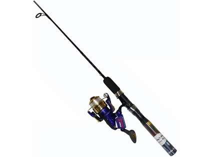 Master DN477-WL 6ft 6in Lighted Spin Combo Blue