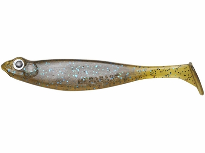 Megabass Hazedong Shad - 3in - Green Pumpkin Blue