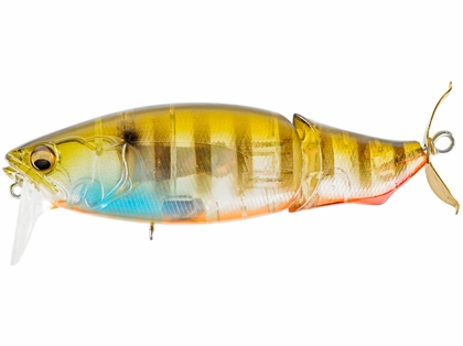 Megabass i-Loud Jointed Propbait - Biwako Clear Gill