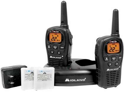 Midland LXT500VP3 22 Channel GMRS Radios