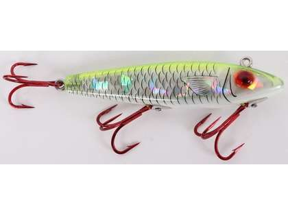 MirrOlure S52MR Sinking Twitchbait CFPR Chartreuse/Pearl/Silver