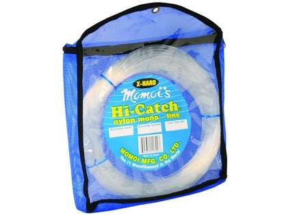 Momoi 11300 X-Tra Hard Mono Leader - Clear White - 300 lb. - 100 yd.