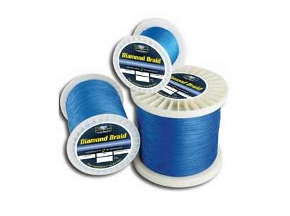 Diamond Braid Fishing Line 300yds 80lb Blue