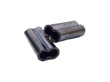 Momoi Diamond Mini Copper Double Sleeves - 100 Pack 1mm