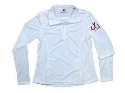Montauk Women's Performance 1/4 Zip Shirt White - Size Small