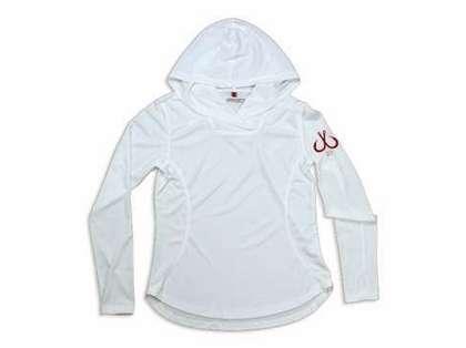 Montauk Women's Performance Hoodie White - Size Medium