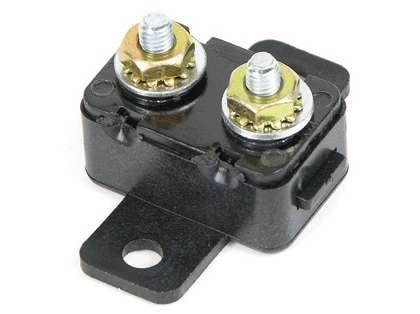 MotorGuide 8 Ga Battery Cable, 50 Amp Manual Reset Breaker & Terminal