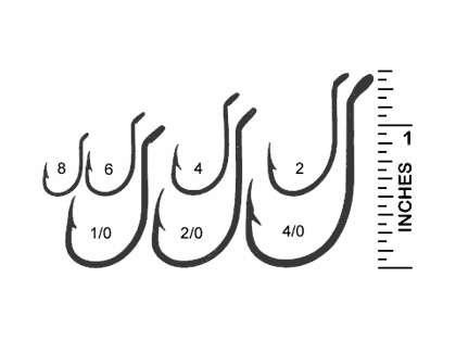 Mustad 92553 Hollow Point Beak Hook