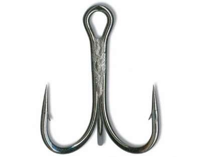 Mustad 36329NP-BN Ultra Point Treble 3X Strong 1/0 Hook 5pk