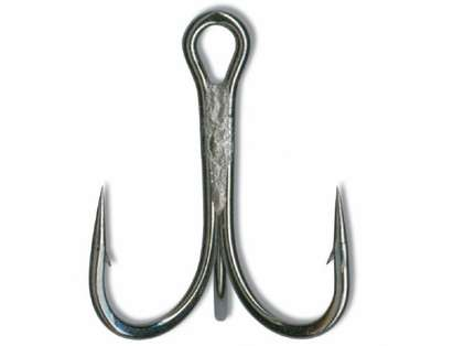 Mustad 36329NP-BN Ultra Point Treble 3X Strong 4 Hook 5pk
