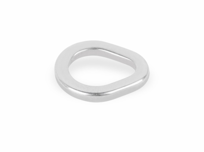 Mustad MA106 Stainless Steel Teardrop Ring