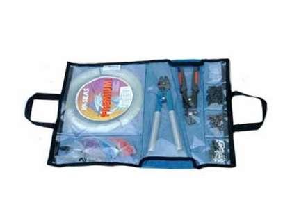 Nantucket Bound Blue Mesh Rigging Bag
