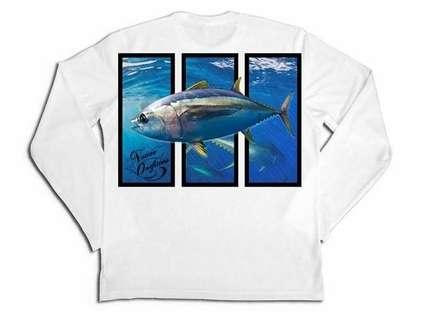 Native Outfitters Z1WHTTUN Z1 Tuna UV50 Sun Shirt