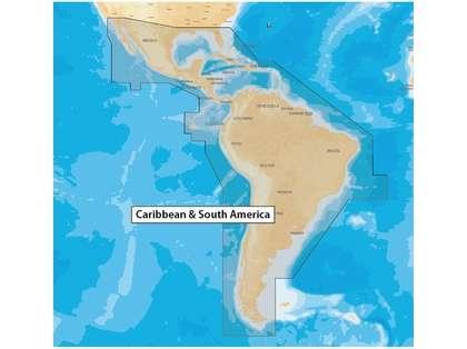 Navionics+ CF/NAV+3XG Caribbean & South America - CF