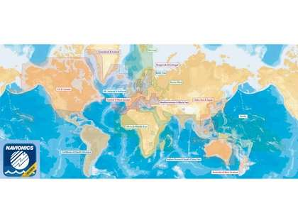 Navionics CF/NAV-U-W 2GB Update Card Worldwide - CF