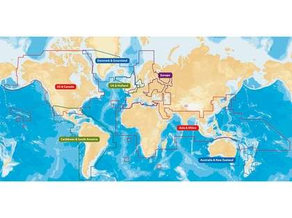Navionics+ CF/NAV+W 2GB Flexible Coverage World Wide Coverage - CF