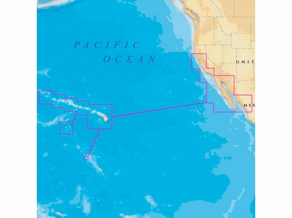Navionics MSD/644P+ Platinum+ - Hawaii, CA South to Baja - microSD/SD