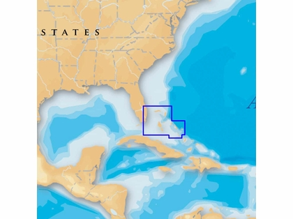 Navionics MSD/699P+ Platinum+ - North Bahamas - microSD/SD