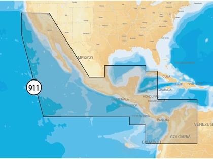 Navionics MSD/911P-2 Platinum+ - Mexico/Central America - microSD/SD