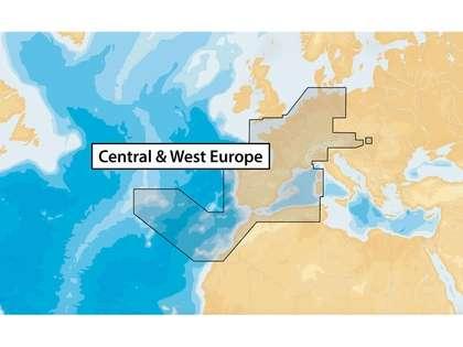 Navionics+ MSD/NAV+46XG/ROW Central & West Europe - microSD