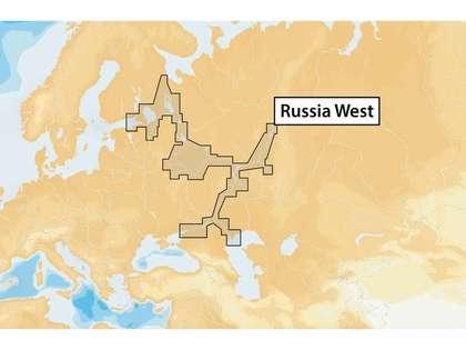 Navionics+ MSD/NAV+52XG/ROW Russia West - microSD