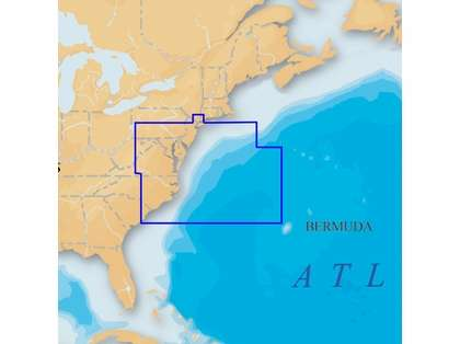 Navionics Platinum+ U.S. Mid Atlantic & Canyons CF Card