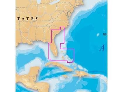 Navionics Platinum+ U.S. Southeast & Bahamas SD/microSD